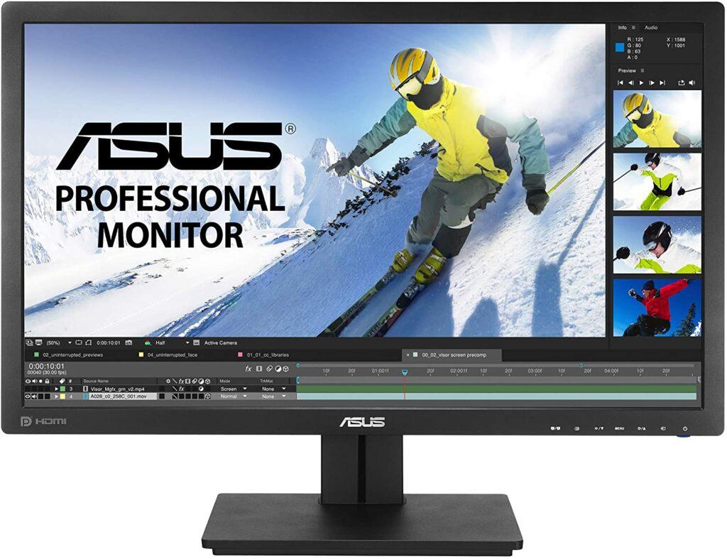 5. ASUS PB278Q 27 Inch Monitor